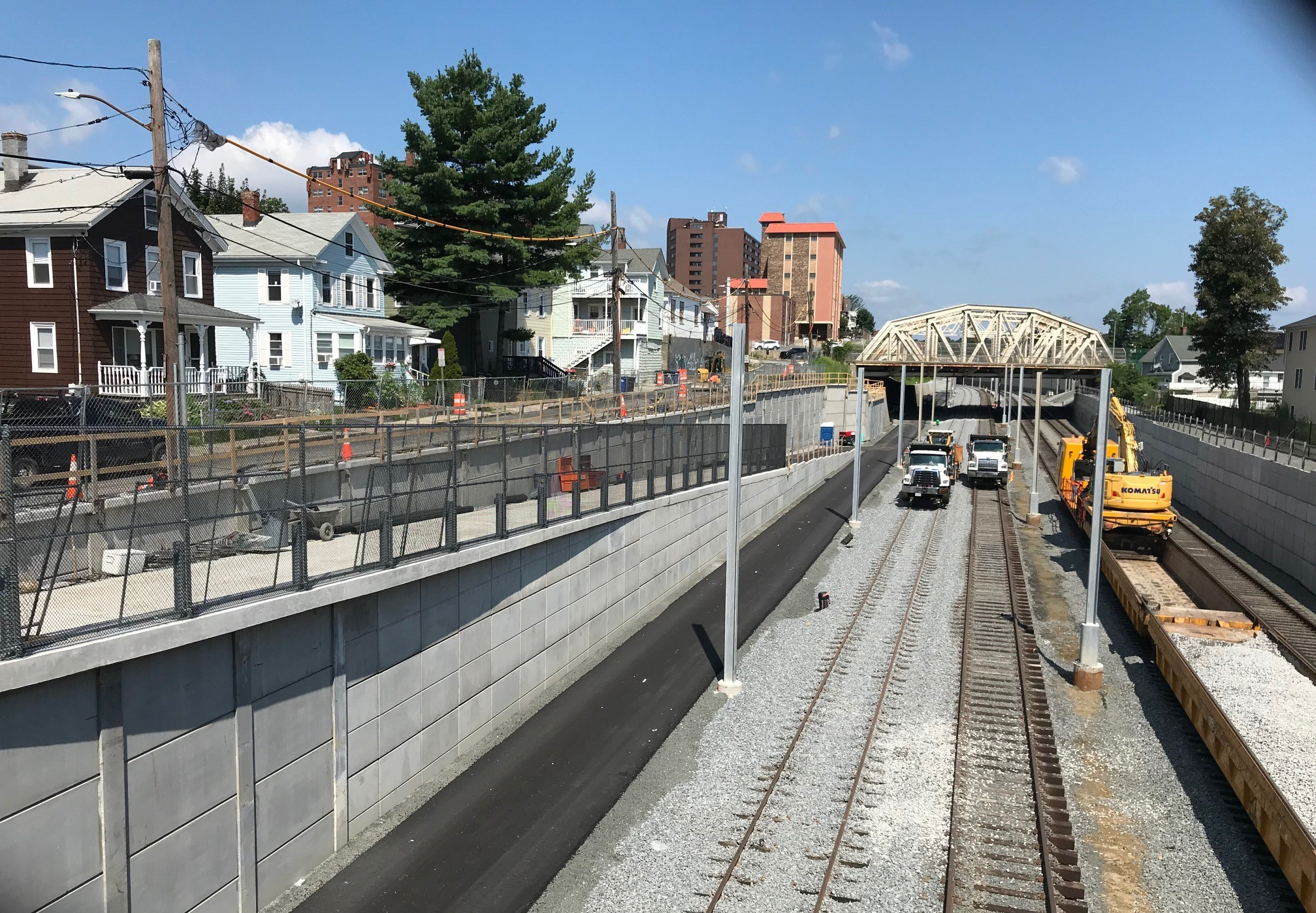 Green Line Extension Update: Trains Arrive in Somerville